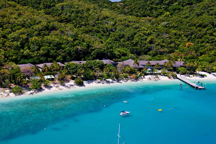 Fitzroy Island Aerial View