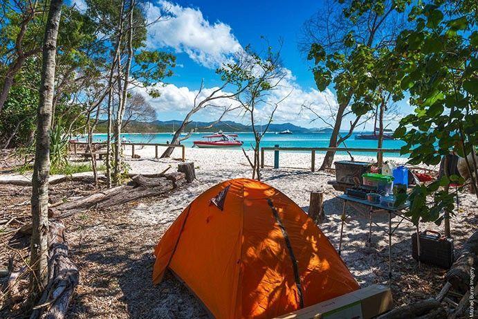 Fitzroy Island Camping Ground
