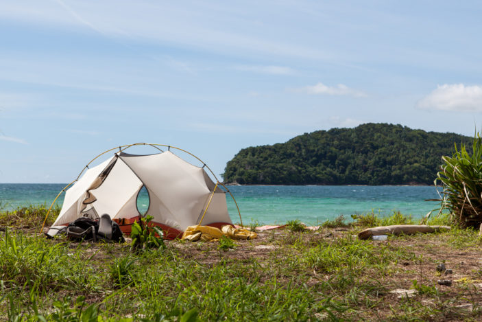 Four Amazing Island Camping Locations in Queensland