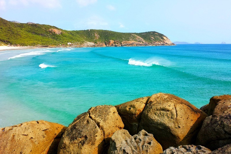 Six Incredible Beaches You Can't Miss on Australia's East Coast Squeaky Beach Wilsons Prom