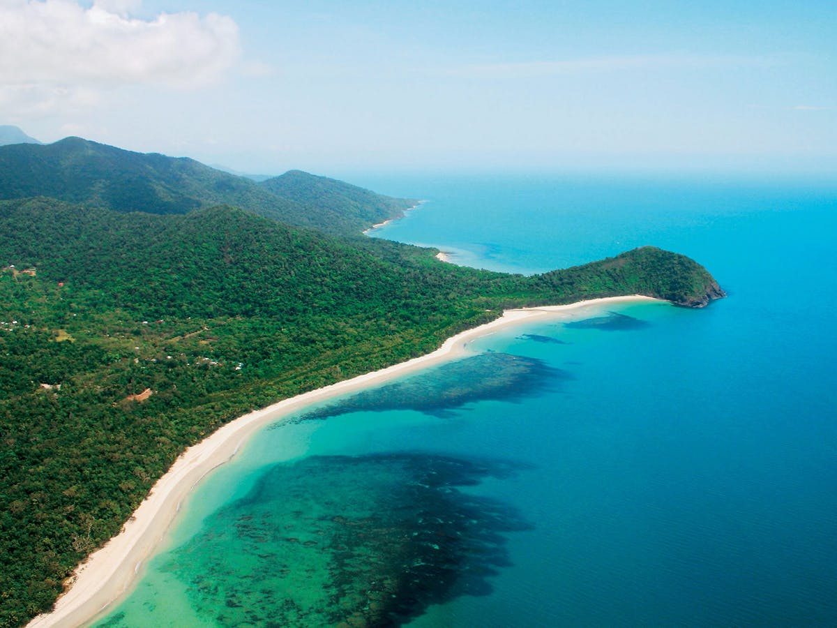 Three Incredible Rainforest Beaches in Tropical Far North Queensland Cape Tribulation