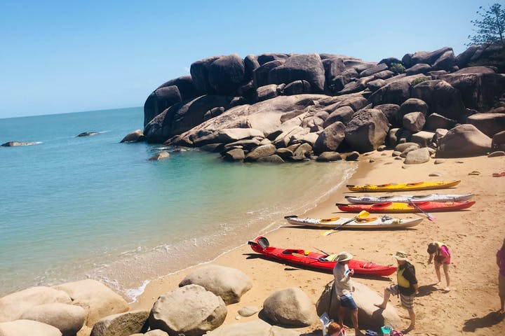 Top Four Islands in Queensland to go Sea Kayaking Magnetic Island