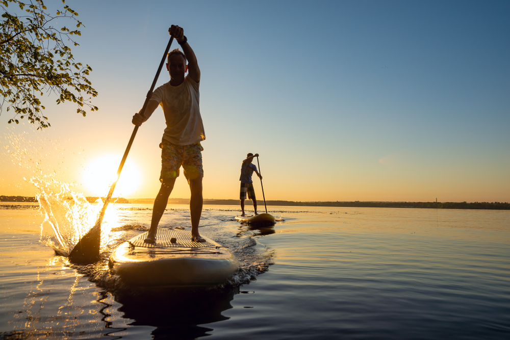 Four Stunning Stand-up (SUP) Paddle Boarding Destinations in Queensland