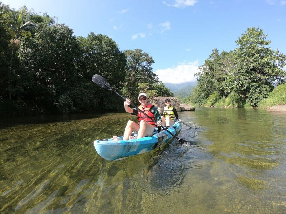 Four Spectacular Places to go Kayaking in Queensland Babinda Creek near Cairns